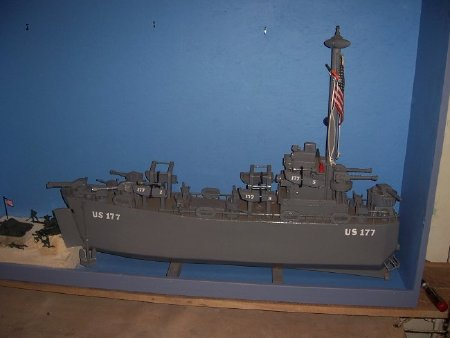 USS SPERRY AS 12 Silhouette Decal U S Navy USN Military